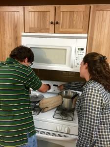 Hunter Cooking